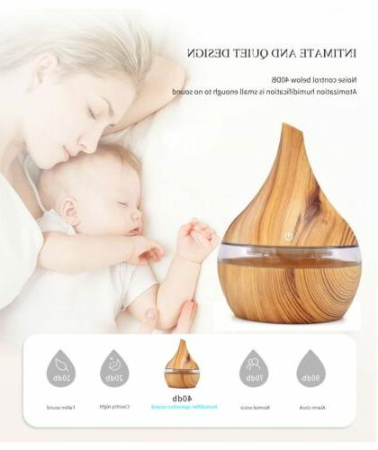 LED Ultrasonic Essential Oil Diffuser Purifier USA