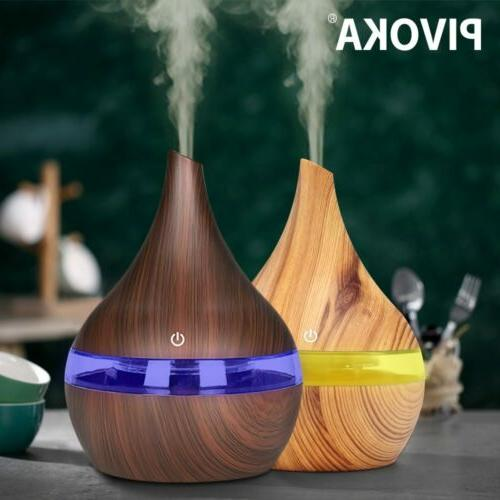 LED Ultrasonic Essential Oil Diffuser Purifier