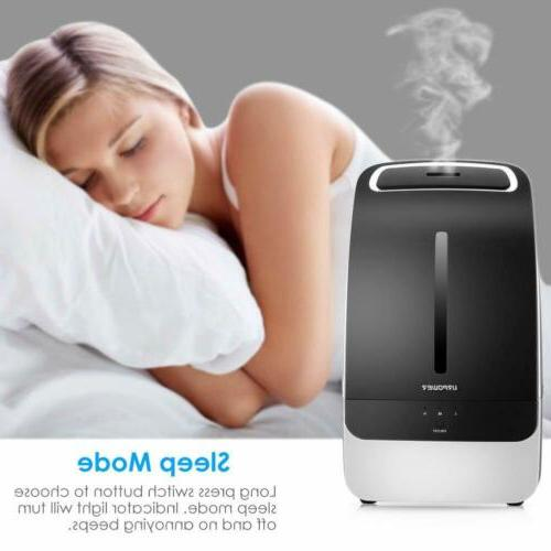 URPOWER Humidifier Adjustable for Home Bedroom