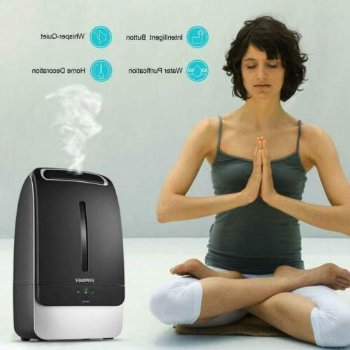 URPOWER Humidifier with Adjustable Mist Mode Home Bedroom