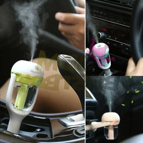 Mini Air Humidifier Diffuser Aroma Mist Purifier