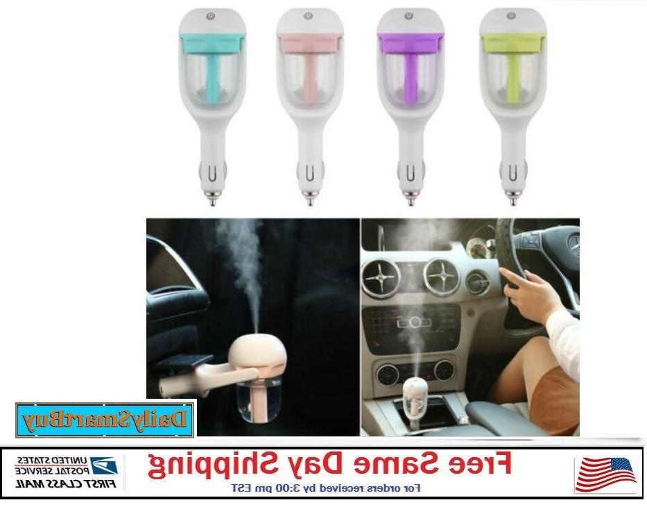 mini car air humidifier essential oil diffuser