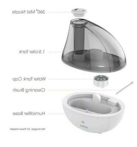 Ultrasonic Mist Humidifier PEHUMGRY
