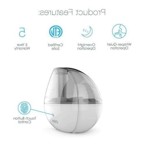 Pure Silver Ultrasonic Cool Mist -