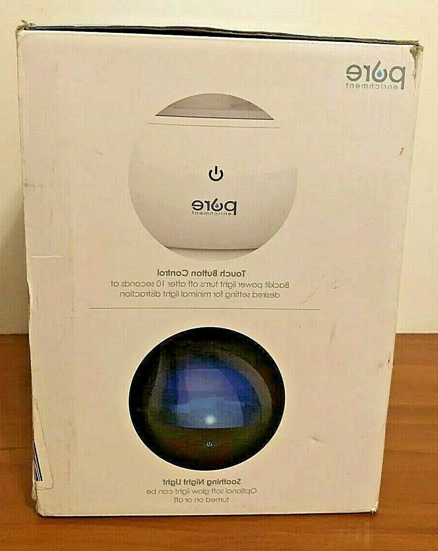 NEW!! Pure Enrichment MistAire Silver Ultrasonic Cool Mist Humidifier -1.5-Liter