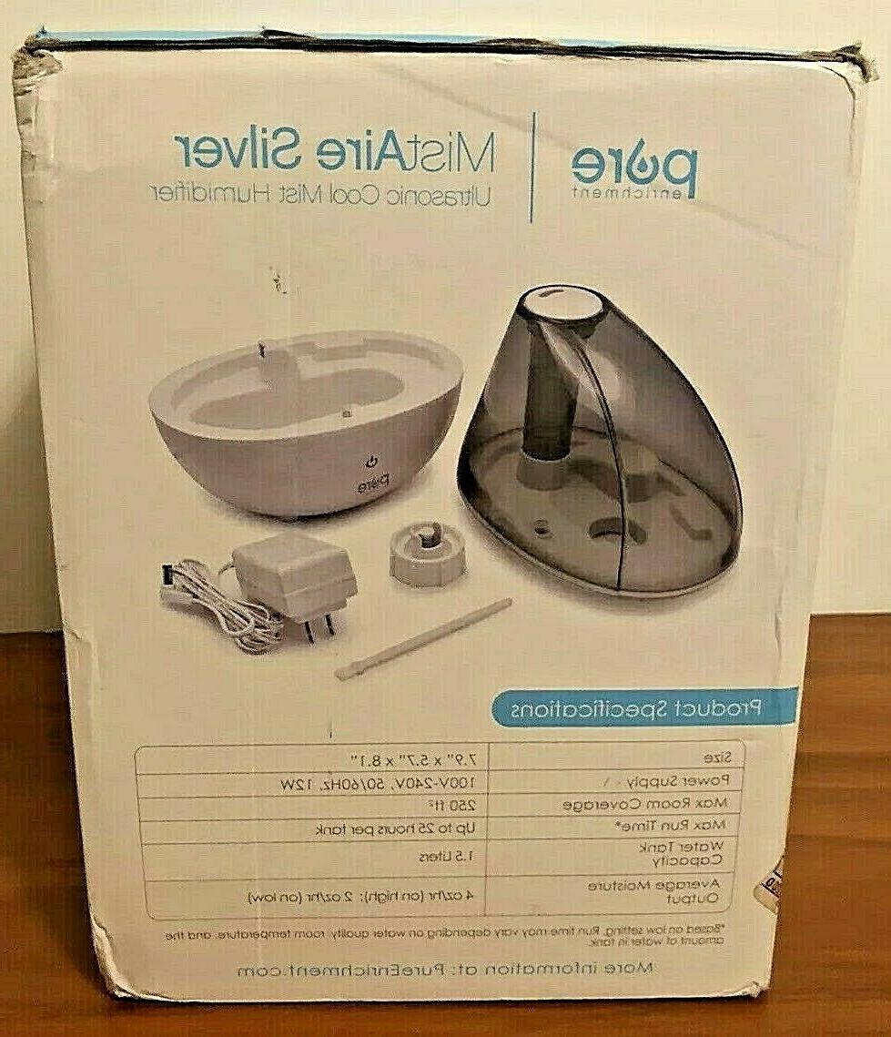 NEW!! Enrichment Silver Humidifier