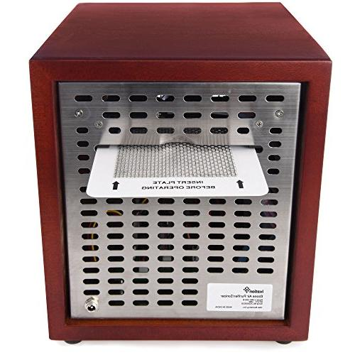 Ivation Air Purifier, Deodorizer -Purifies Up Sq/Ft -Great for Pollen, Smoke More Cherry