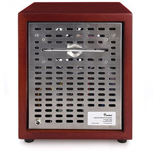 Ivation Ozone Generator Purifier, & -Purifies Up Sq/Ft Dust, Pollen, Pets,