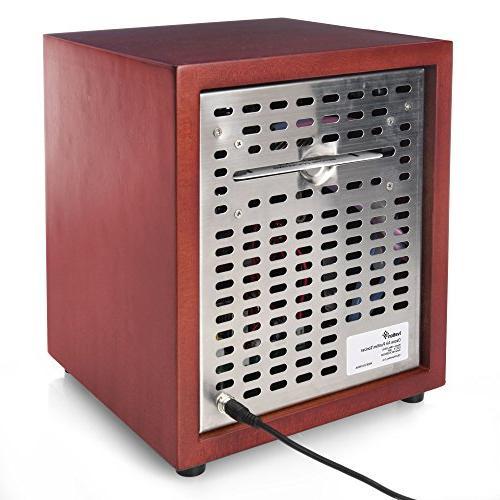 Ivation Generator Purifier, & Deodorizer -Purifies Sq/Ft for Pollen, &