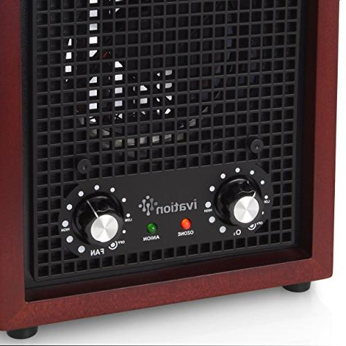 Ivation Air Purifier, Ionizer -Purifies Up Sq/Ft for More