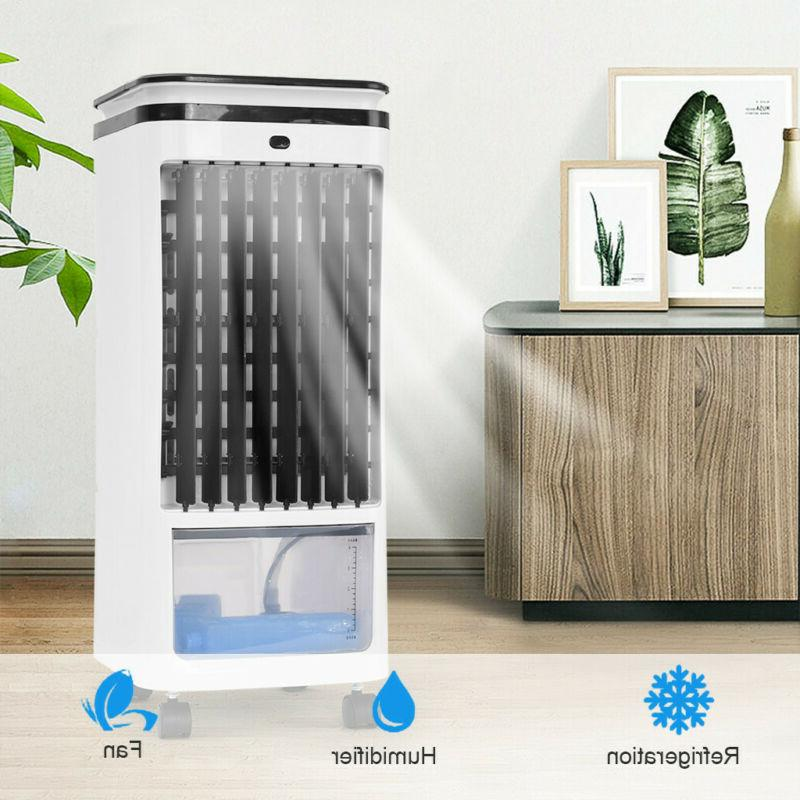Portable Evaporative Air Conditioner Cooler Fan Humidifier W