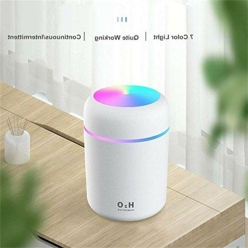 Portable Mini Humidifier 300ml Cool Mist Humidifier With Fas