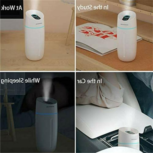 Portable Humidifier Home USB Lamp Aroma Nano Diffuser Mist Purifier
