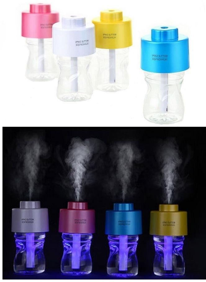 Portable Mini Caps Humidifier LED