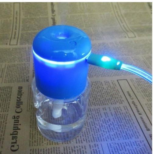 Portable Caps Humidifier Air Aroma LED