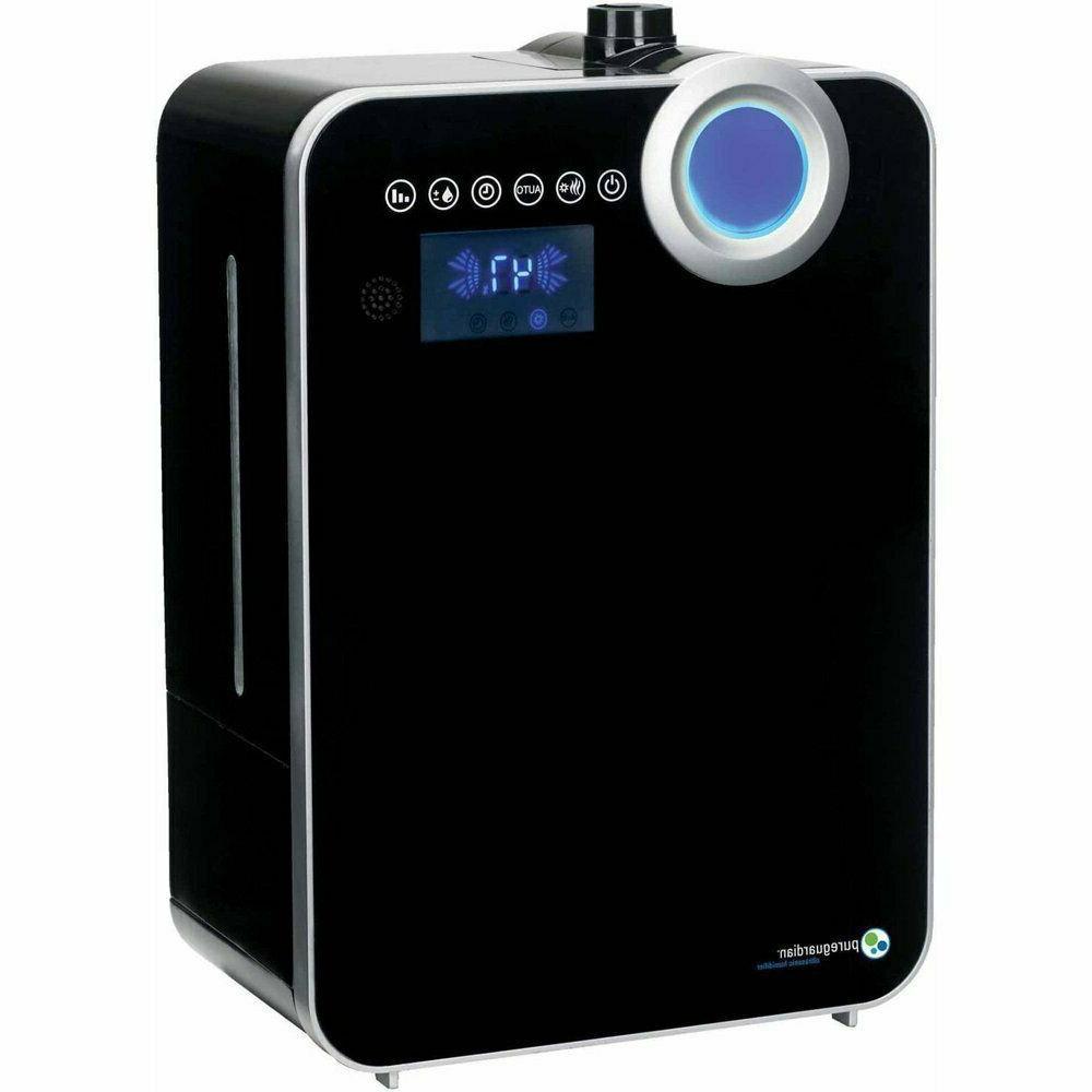 pureguardian ultrasonic warm and cool mist humidifier