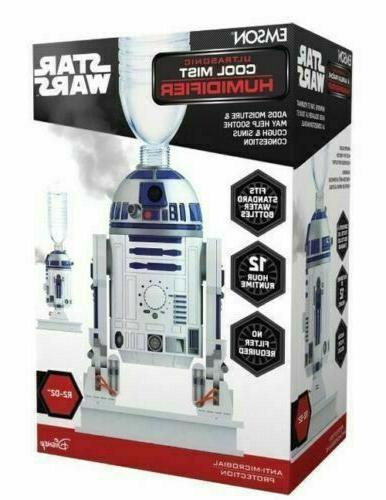 r2d2 personal ultrasonic cool mist humidifier by