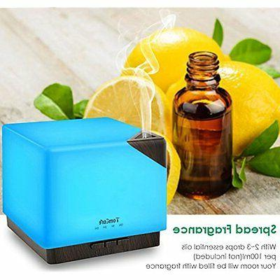 700ml Humidifiers Square Aromatherapy Diffuser