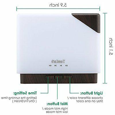 700ml Room Square Essential Diffuser