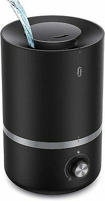 TaoTronics Top Fill Humidifiers with Essential Oils Tray, 3L