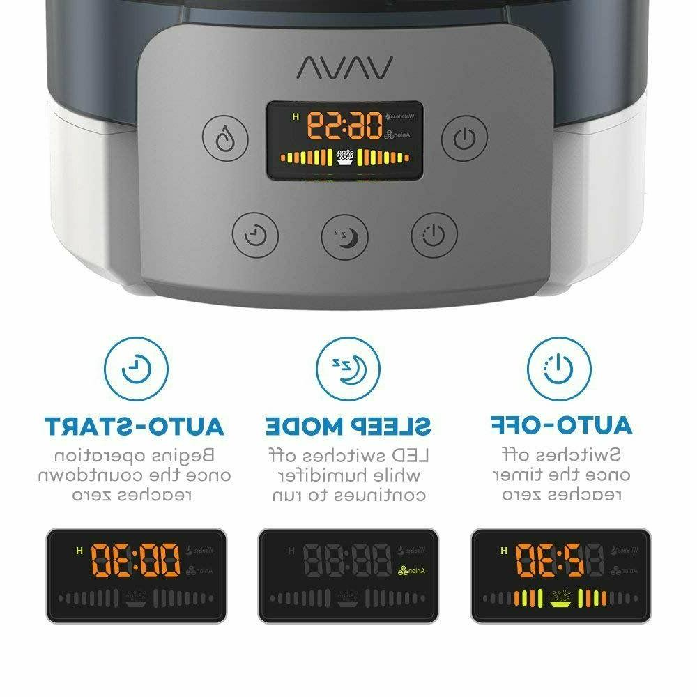 VAVA Fill Humidifier, Cool Mist Humidifiers for Large Room,