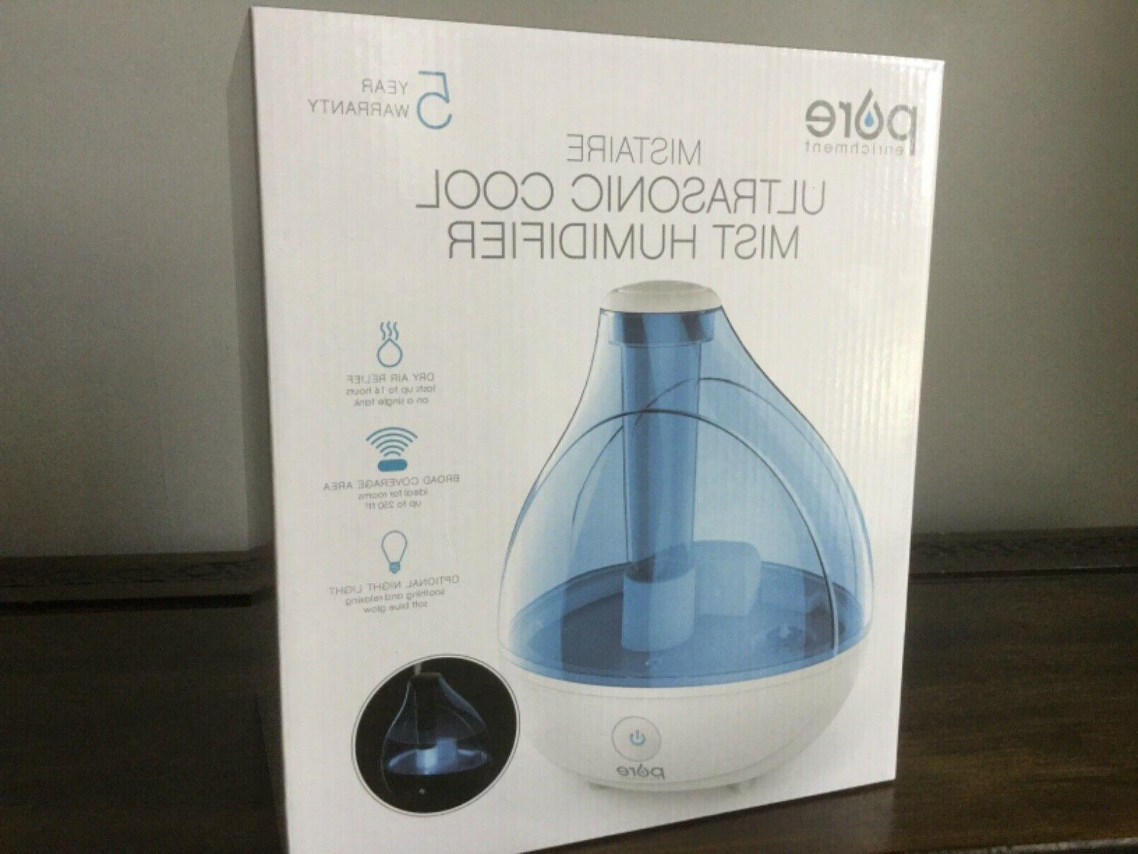 ultrasonic cool 1 5l humidifier