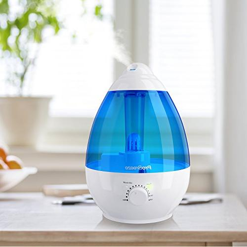 Pro Mist 1 - Works for to 40 Hours, Automatic Shut-Off, Night Light Function