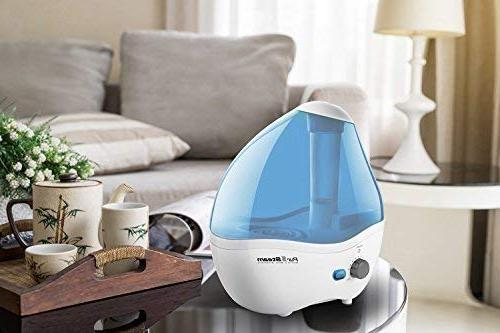 Cool Humidifier – Superior Liter Whisper-Quiet Operation, Ideal for Baby Shut-Off to 20 Time
