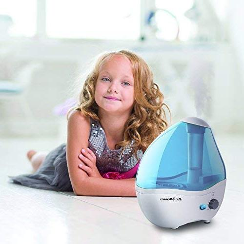 Cool – Ultrasonic 2.2 Liter Humidifying Unit with Whisper-Quiet Operation, Ideal for Baby Shut-Off - 20 of Time