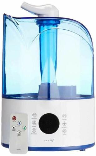 ultrasonic cool mist humidifier with remote control