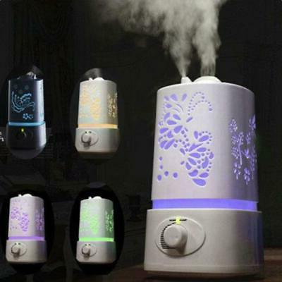 ultrasonic home led aroma humidifier air diffuser