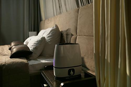 Ultrasonic - High Output, Ultra Auto Light, Large Capacity Vaporizer by