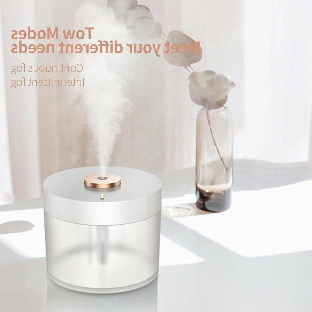 Humidifier Air Aroma Ultrasonic LED Essential