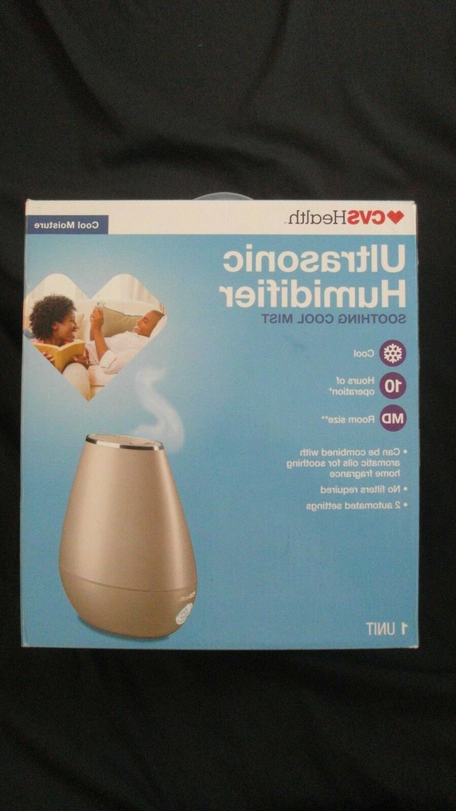 ultrasonic humidifier soothing cool mist room size