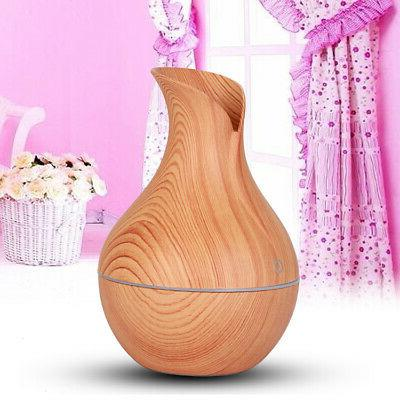 Ultrasonic Diffuser Aromatherapy Humidifier, 10ml Essential