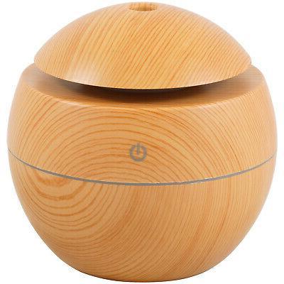 Ultrasonic Aromatherapy Light Wood 10ml