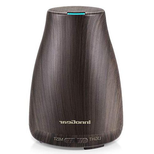 upgraded wood grain aromatherapy diffuser