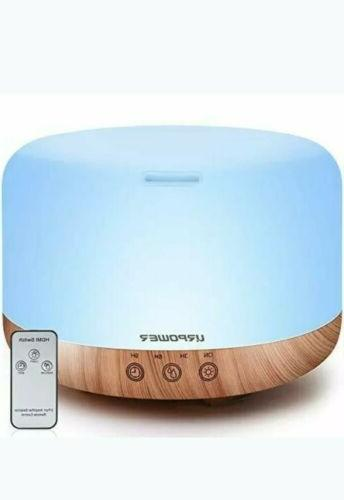 urpower 1000ml essential oil diffuser humidifiers remote