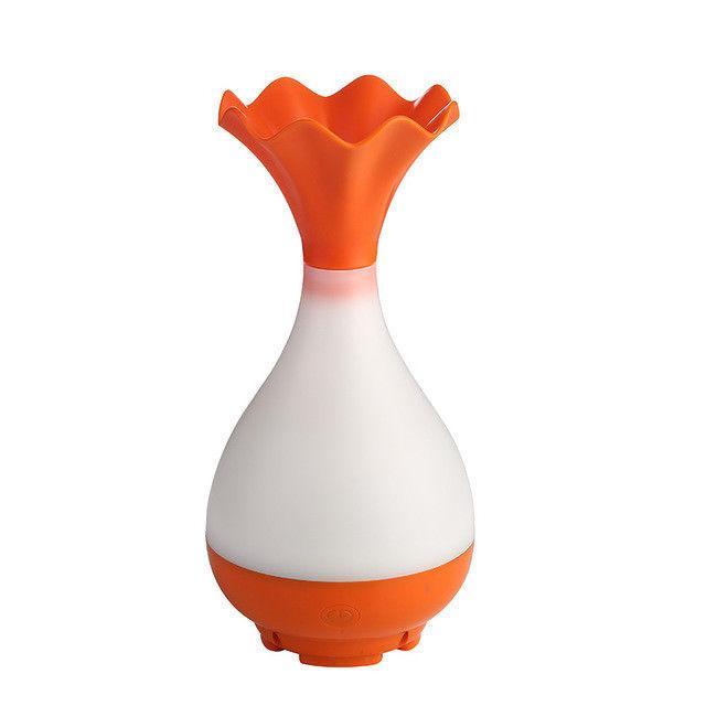 USB Air Diffuser LED Light Mist Vase