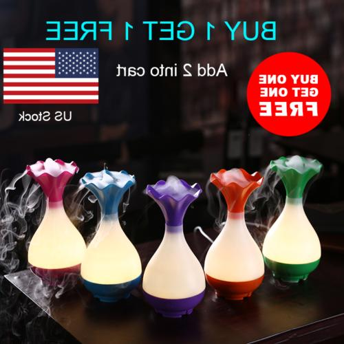 usb air humidifier ultrasonic diffuser with led