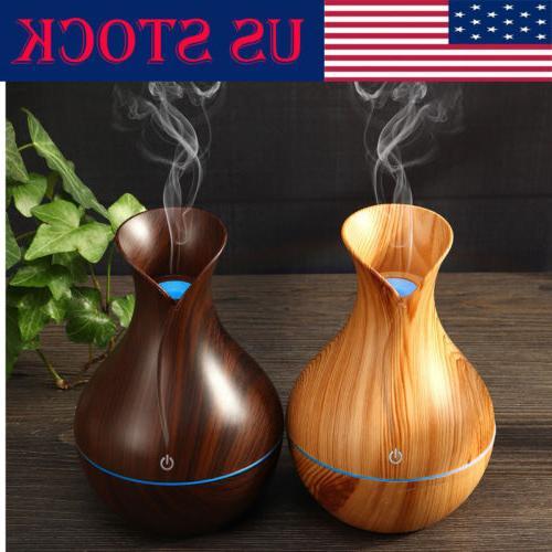 usb led purifier ultrasonic aroma essential diffuser