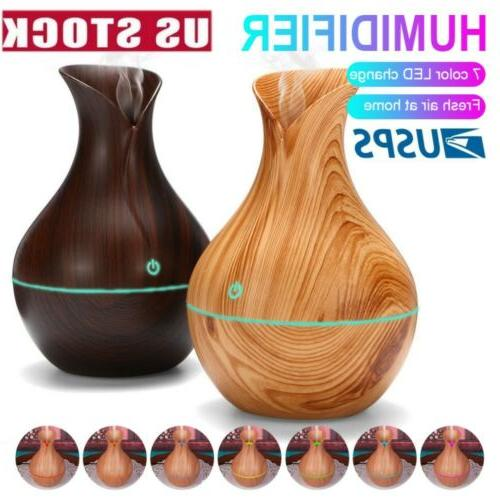 usb led purifier ultrasonic aroma oil diffuser