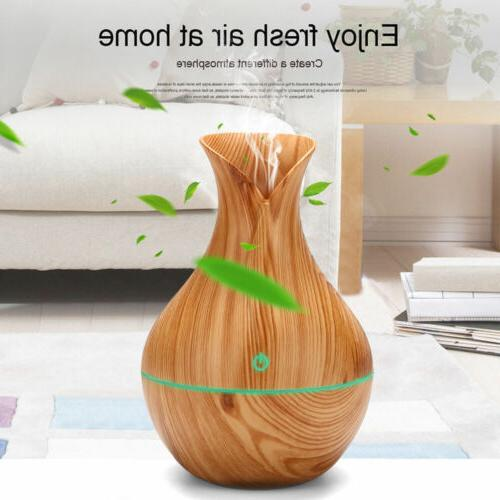 Aroma Oil Wood Grain Humidifier 130ML