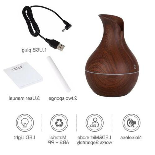 USB LED Humidifier Aromatherapy Purifier