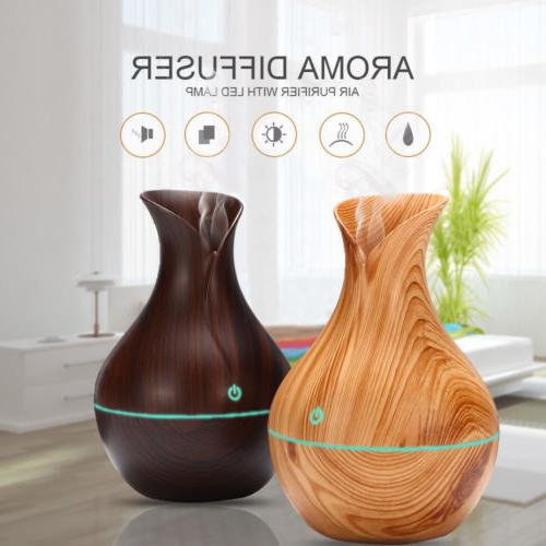 usb led ultrasonic aroma humidifier essential oil