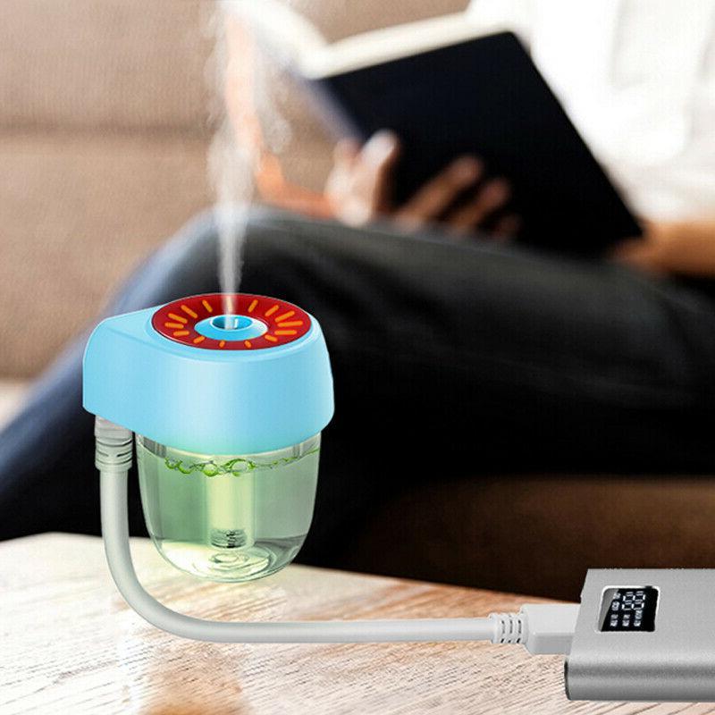 USB Mini Car Air Purifier Freshener Essential