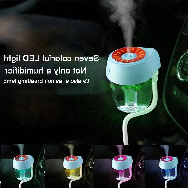 USB Car Air Purifier Essential Oil