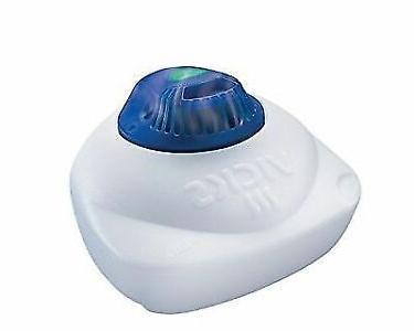 v105sgl warm steam vaporizer with night light