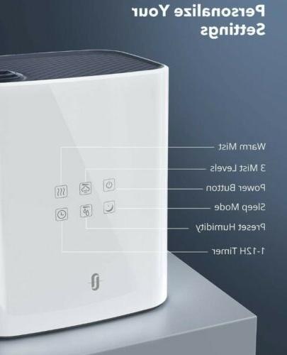 Taotronics Warm Cool Mist Humidifier