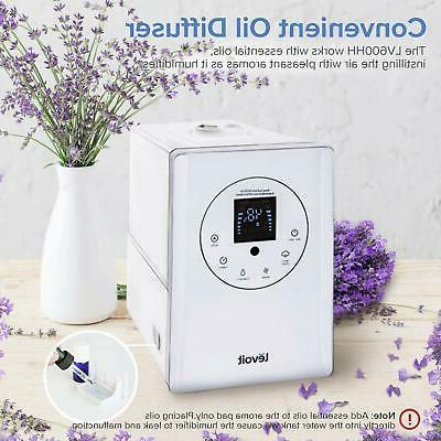 Warm and Mist Ultrasonic Humidifier Bedroom Vaporizer Large Quiet